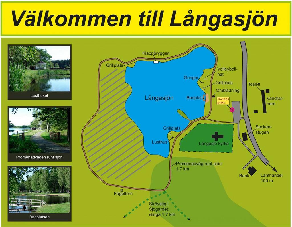 Infokarta Långasjön